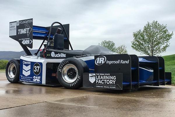 Scholarship winner Ryan H Formula Car